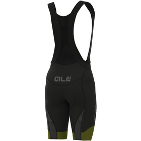 Alé Cycling PRS Master Culotte con tirantes Hombre, black-yellow flou
